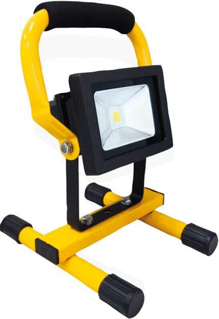Image sur Projecteur 10 W rechargeable