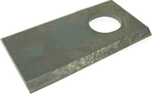 Image sur Couteau plat 117 x 41 x 4 D 18,5 mm