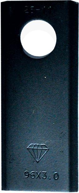 Image sur Couteau adaptable FAHR 96 x 40 x 3 x 19,