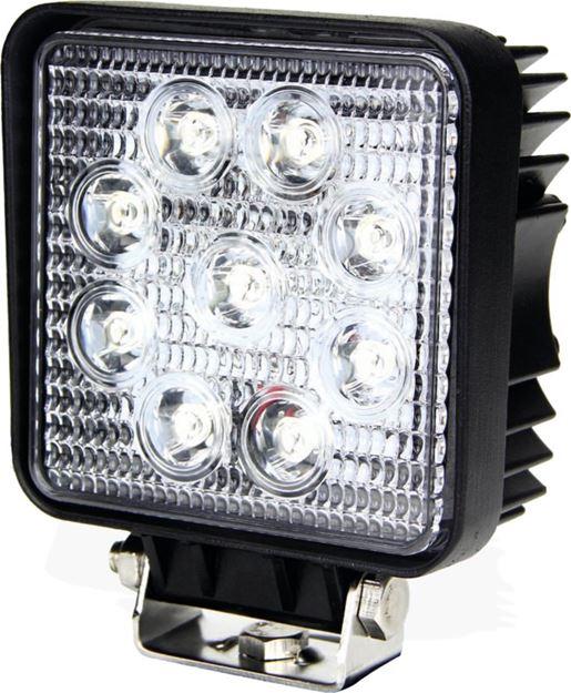 Image sur Phare de travail 9 LED carré 1700 lm AGRILED