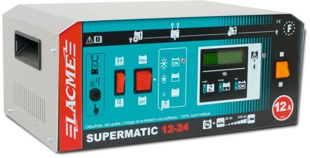 Image sur SUPERMATIC 12-24 LCD Chargeur batterie