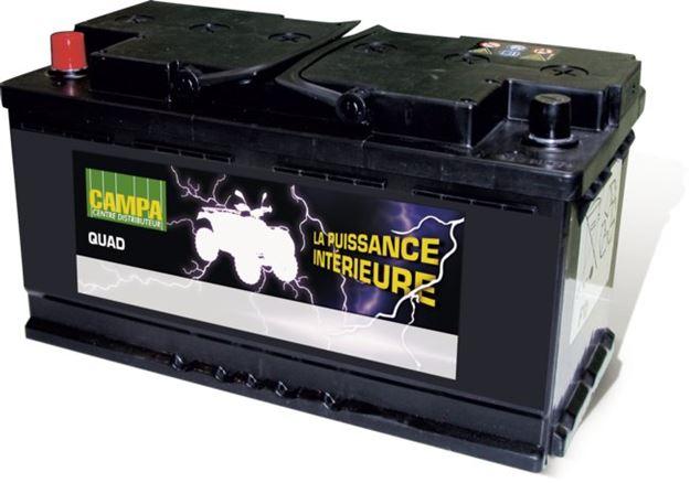 Image sur Batterie quad