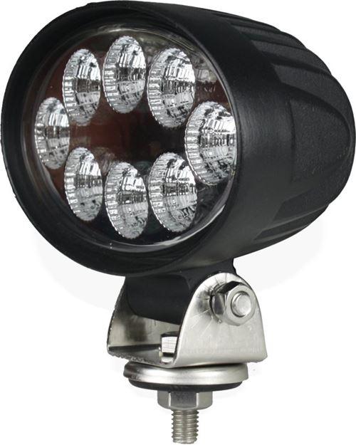 Image sur Phare de travail oval 8 LED 1600LM AGRILED